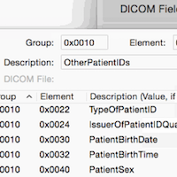 DICOM Fields
