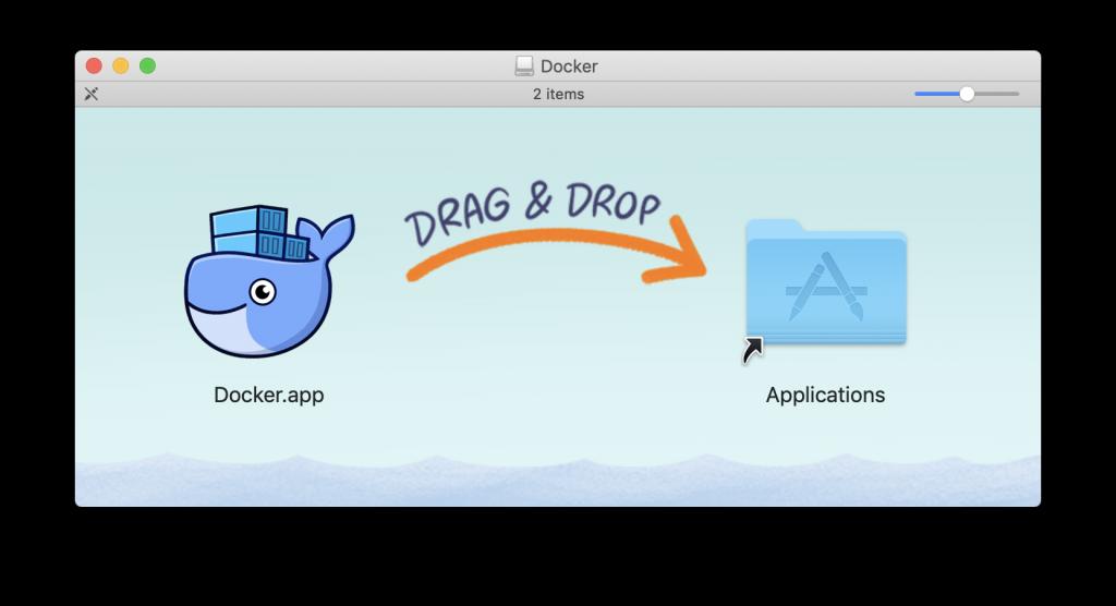install docker in mac